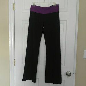Lululemon Bootcut Pants w/ Purple Band